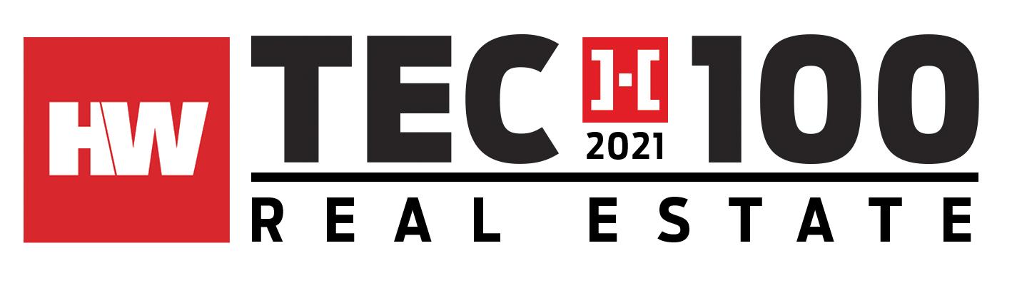 HW Tech100 Real Estate 2021 Award