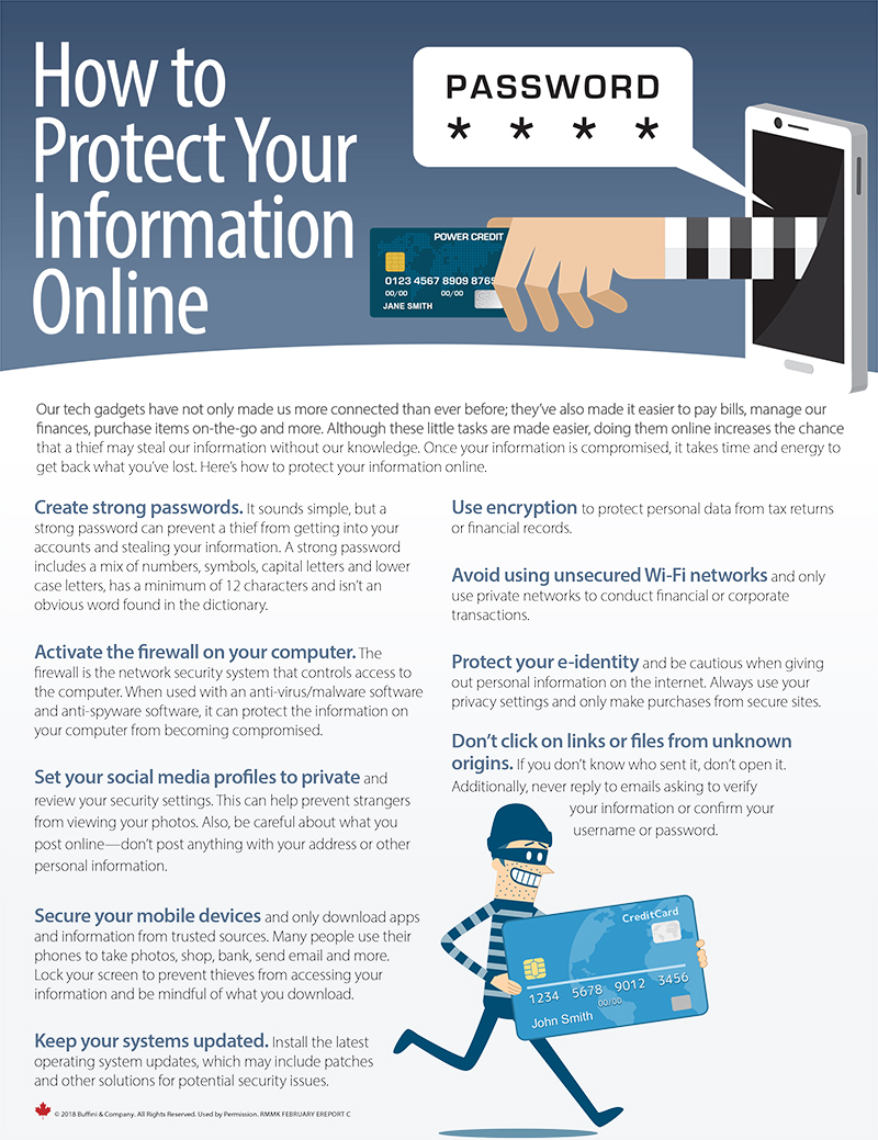Protect Your Info